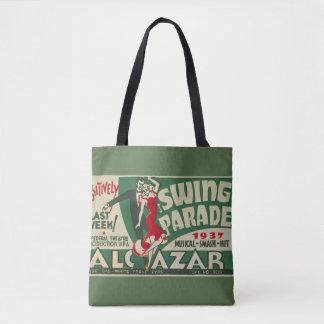 "Vintage ""Swing Parade"" Tote"
