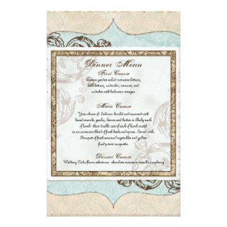 Vintage Swirl Flourish Etchings Floral Wedding Stationery