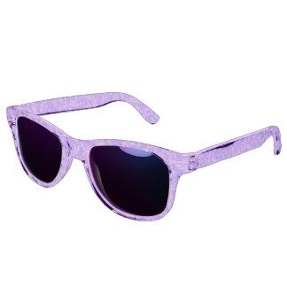 Vintage Swirls Amethyst Ultraviolet Purple Sunglasses