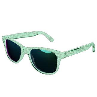 Vintage Swirls Green Sunglasses