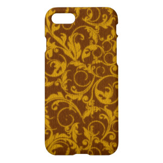 Vintage Swirls Mango Cinnamon iPhone 7 Case