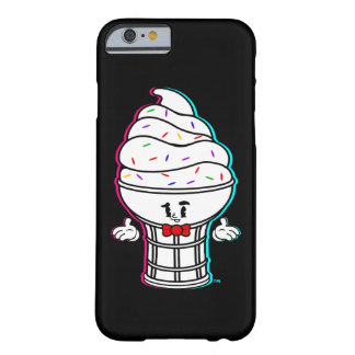 Vintage Swirly Cartoon Ice Cream Cone Barely There iPhone 6 Case