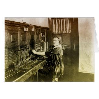 Vintage Switchboard Card
