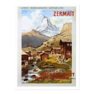 Vintage Switzerland - Postcard