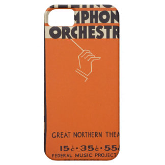 Vintage Symphony Orchestra iPhone 5 Cover