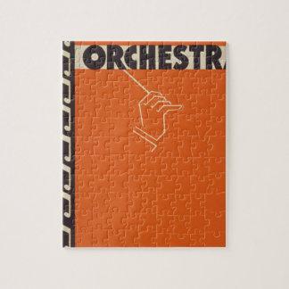 Vintage Symphony Orchestra Jigsaw Puzzle