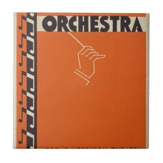 Vintage Symphony Orchestra Tile