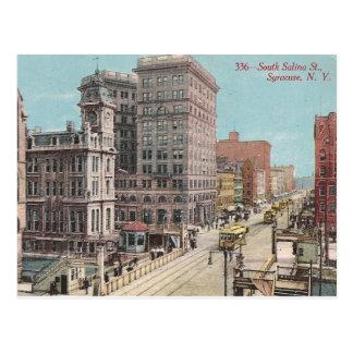Vintage Syracuse NY Postcard