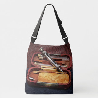 Vintage Syringe Crossbody Bag