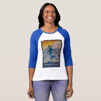 Vintage T-shirt Chamonix-mont Blanc Paris