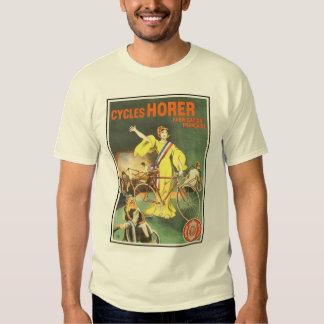 Vintage T-Shirt: Cycles Horer Bicycle Ad Shirts
