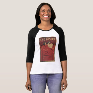 vintage T-shirt Red american art the poster