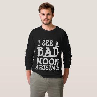 Vintage T-shirts, I SEE A BAD MOON ARISING Sweatshirt