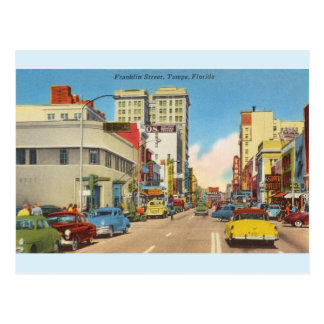 Vintage Tampa, Florida Postcard
