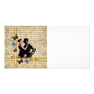 Vintage tango photo cards