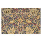 Vintage Tapestry Floral Fabric Pattern Tissue Paper