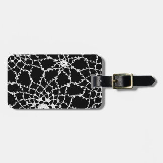 Vintage Tatted Lace Bag Tag