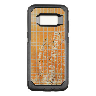 Vintage Tattered French Store Receipt OtterBox Commuter Samsung Galaxy S8 Case