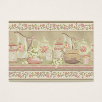 Vintage Tea Business Business Card