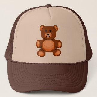 Vintage Teddy Bear - Pixel Art Trucker Hat