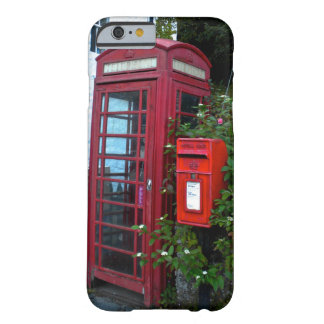 Vintage telephone booth and mail box barely there iPhone 6 case