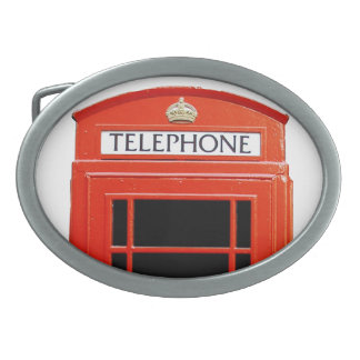 Vintage Telephone Booth Belt Buckles