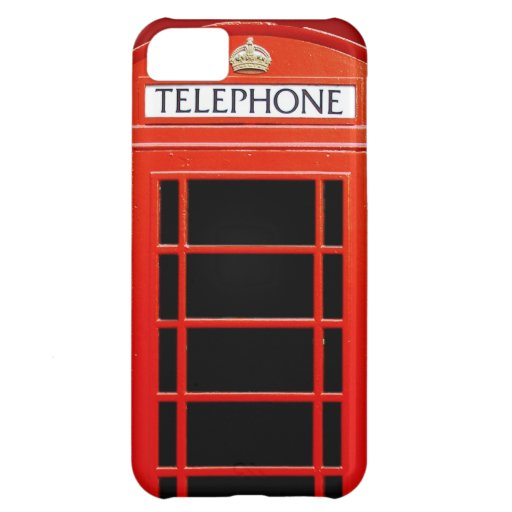 Vintage Telephone Booth Cover For iPhone 5C