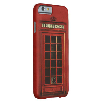 Vintage Telephone Box iPhone Case