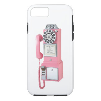 Vintage Telephone for Apple iPhone 7, Tough iPhone 8/7 Case