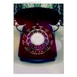 Vintage Telephone Greeting Card.