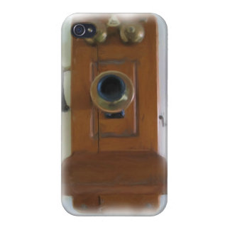 Vintage Telephone iPhone 4 Savvy Case iPhone 4/4S Cases