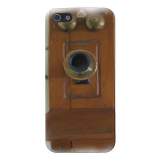 Vintage Telephone iPhone 5 Savvy Case iPhone 5/5S Case