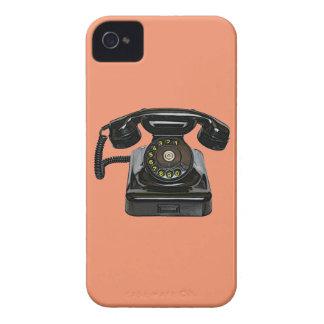 Vintage telephone QPC iPhone 4 Case