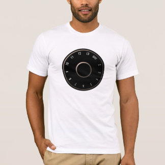 Vintage Television VHF Dial T-Shirt