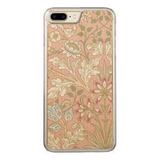 Vintage Textile William Morris Hyacinth GalleryHD Carved iPhone 8 Plus/7 Plus Case