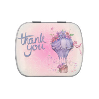 Vintage Thank You Hot Air Balloon