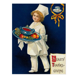 Vintage Thanksgiving Greeting Postcard