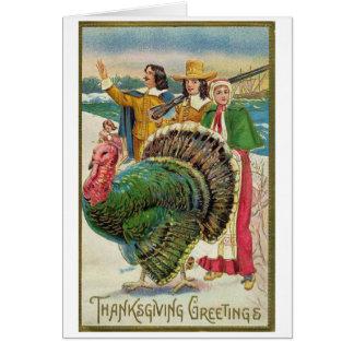 Vintage - Thanksgiving Greetings, Card