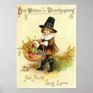 Vintage Thanksgiving Poster