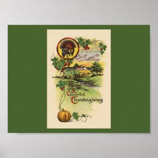 Vintage Thanksgiving Print