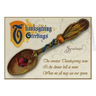 Vintage Thanksgiving - Spoon & Verse Greeting Card