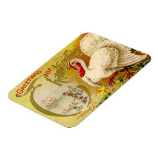Vintage Thanksgiving Turkey Premium Flexi Magnet