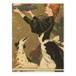 Vintage Thanksgiving Victorian Turkey Postcard
