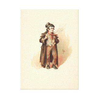Vintage The Artful Dodger Oliver Twist Canvas Print
