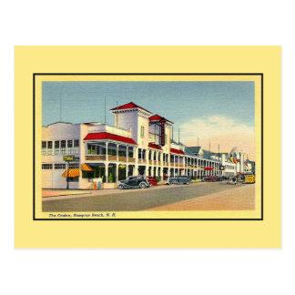 Vintage the Casino Hampton Beach NH Postcard