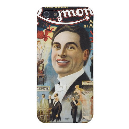 Vintage The Great Raymond, Master of Miracles Covers For iPhone 5