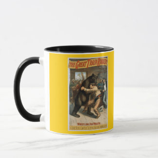 Vintage The Great Train Robbery Mug