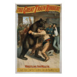 Vintage The Great Train Robbery Print