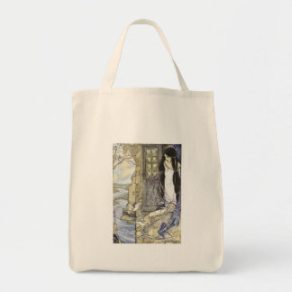Vintage - The Lady of Shalott, Tote Bag
