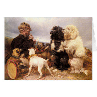 Vintage - The Lucky Dogs, Card